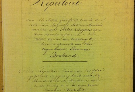 Repertoire Notaris Kuijper